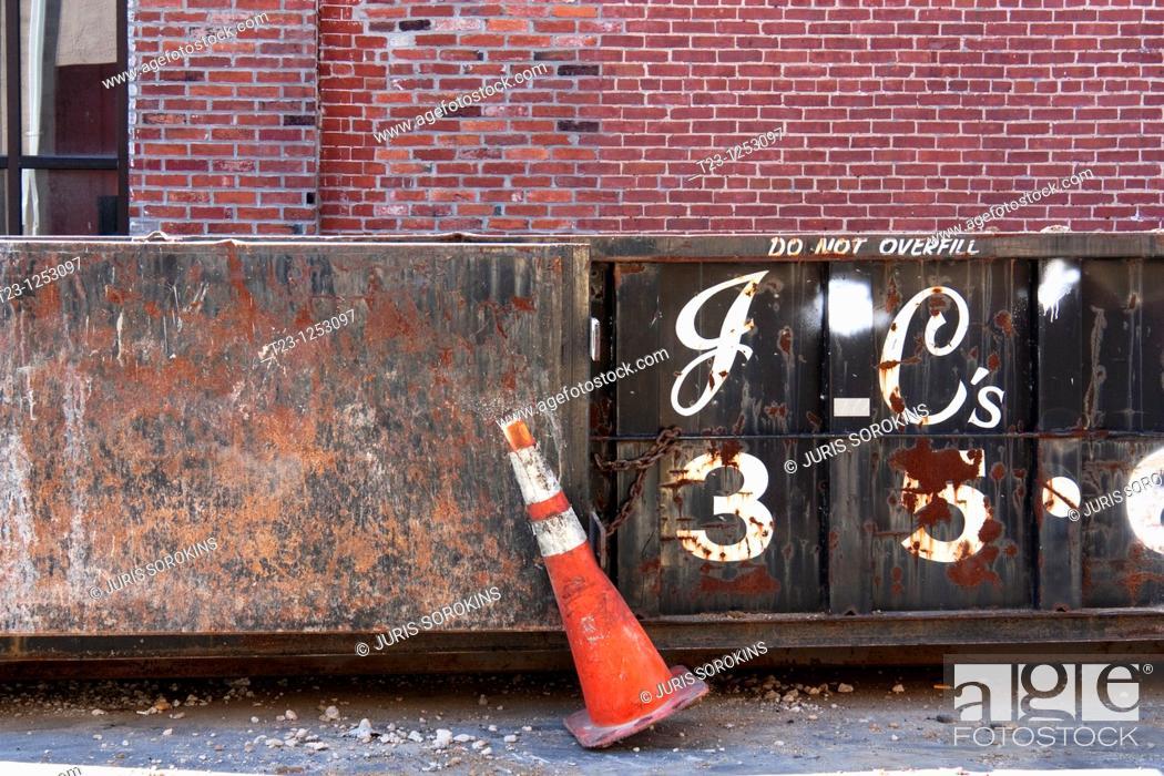 Stock Photo: Construction site.