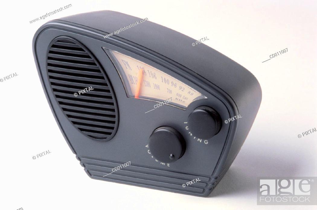 Stock Photo: Radio.