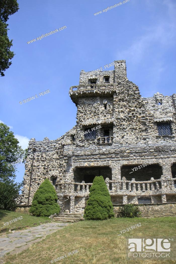 Stock Photo: Gillette Castle, Gillette Castle State Park, East Haddam, Connecticut, United States.