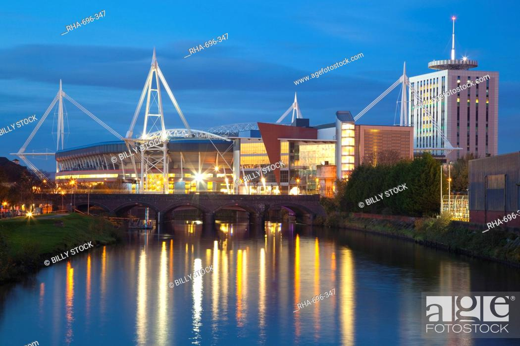 Stock Photo: Millennium Stadium, Cardiff, South Wales, Wales, United Kingdom, Europe.