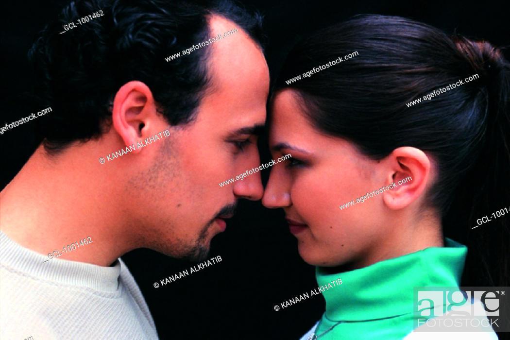 Stock Photo: Romantic couple.