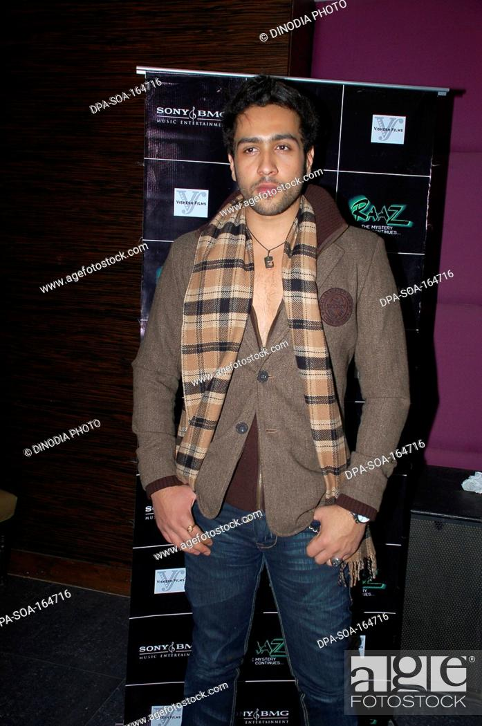 Actor Adhyayan Suman India NO MR Stock Photo Picture And Rights