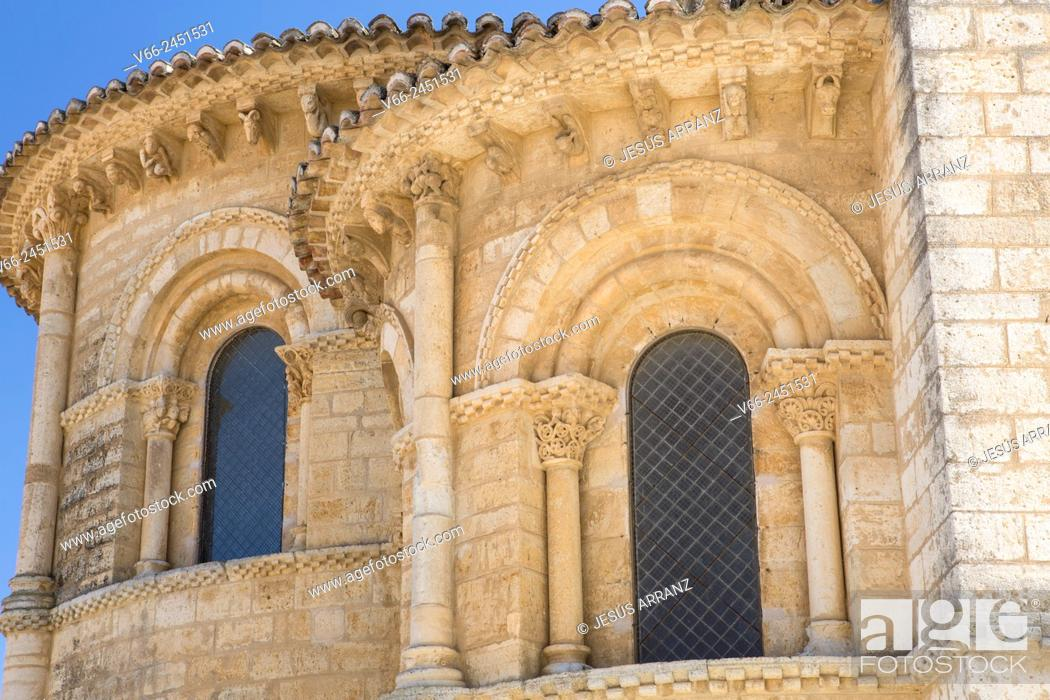 Imagen: Church of San Martin, Romanesque style, 11th Century. Fromista. Province of Palencia, Castile-Leon, Spain.