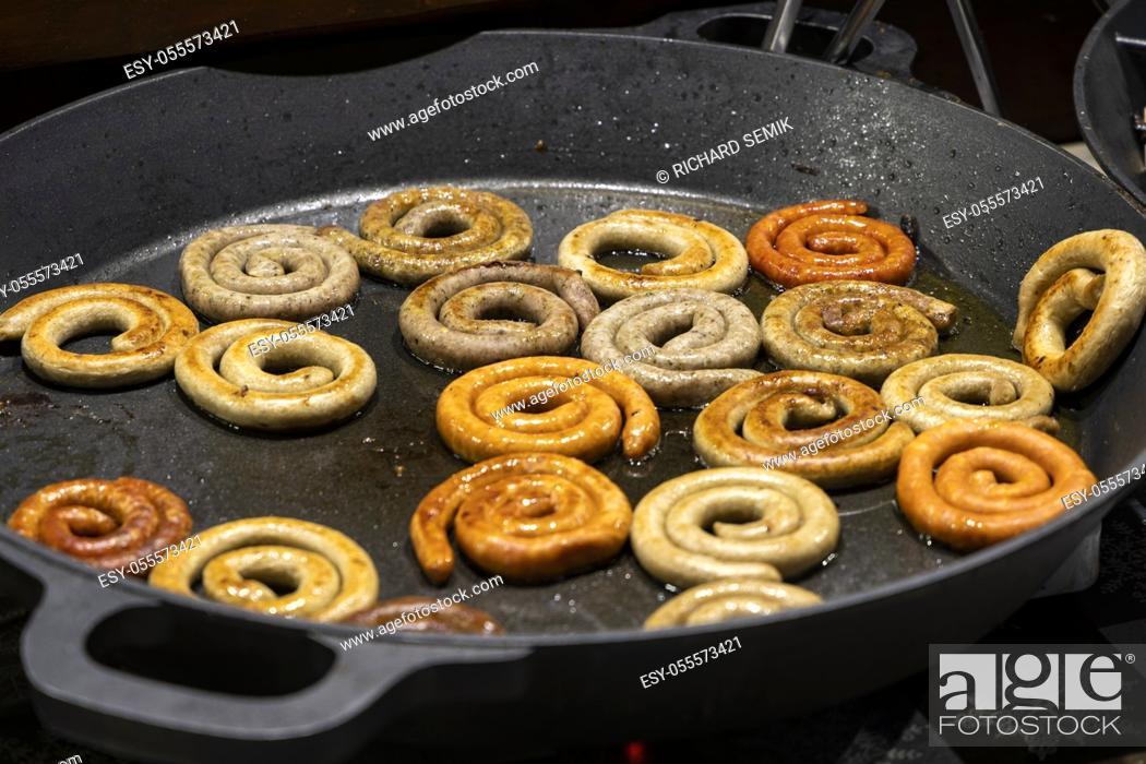 Imagen: Street food in Prague, Czech Republic.