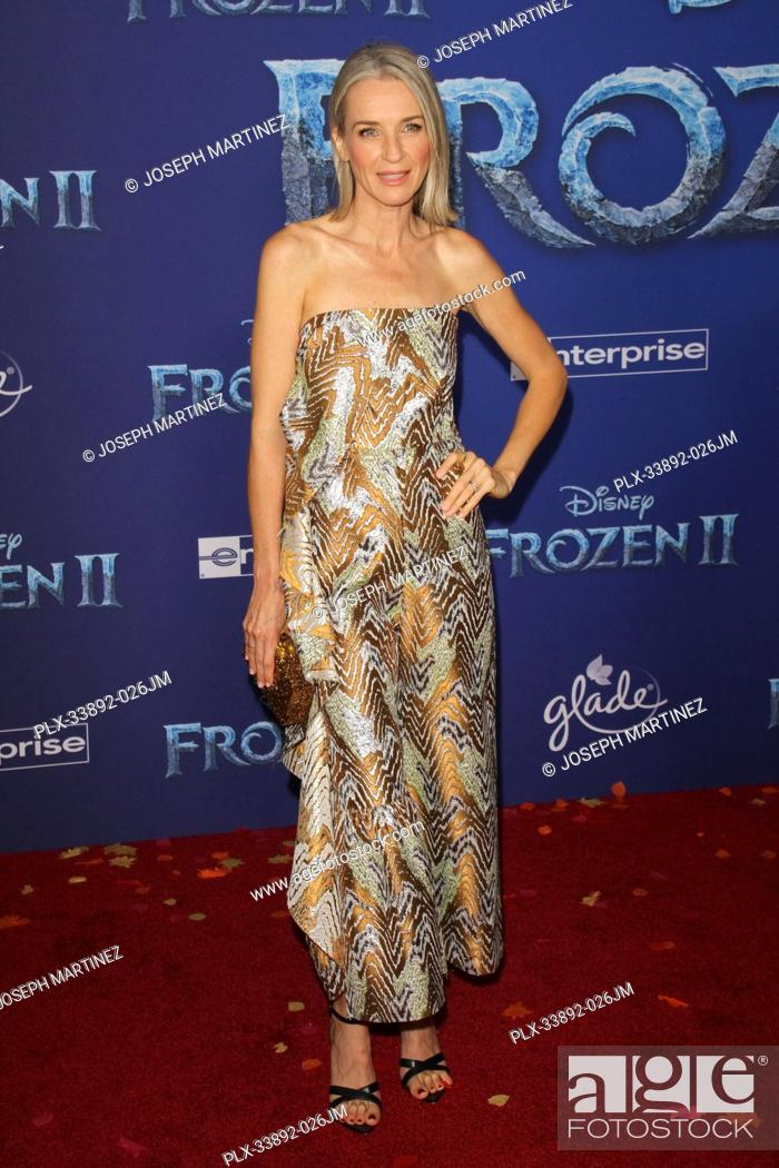 """Stock Photo: Ever Carradine at Disney's """"""""Frozen II"""""""" World Premiere held at the Dolby Theatre in Hollywood, CA, November 7, 2019. Photo Credit: Joseph Martinez / PictureLux."""