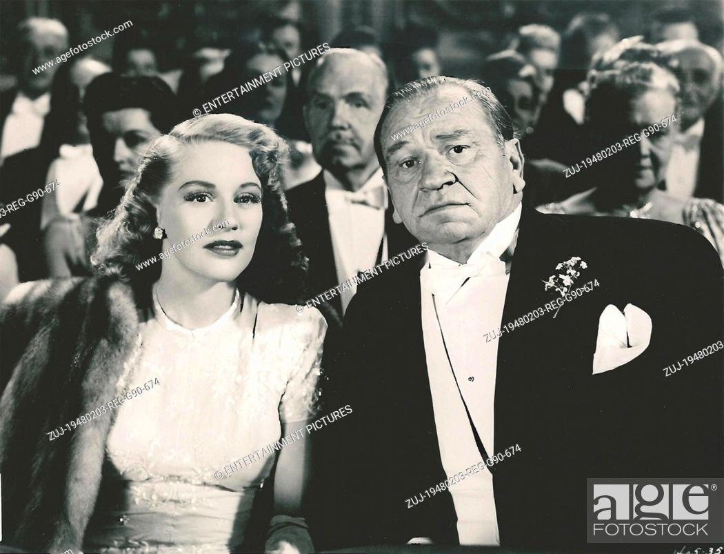 Stock Photo: RELEASED: Feb 03, 1948 - Original Film Title: Alias a Gentleman. PICTURED: WALLACE BEERY, DOROTHY PATRICK. (Credit Image: © Entertainment Pictures/Entertainment.