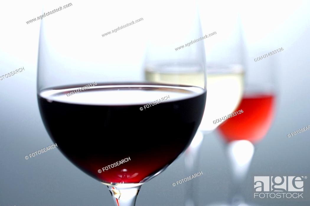 Stock Photo: Wine.