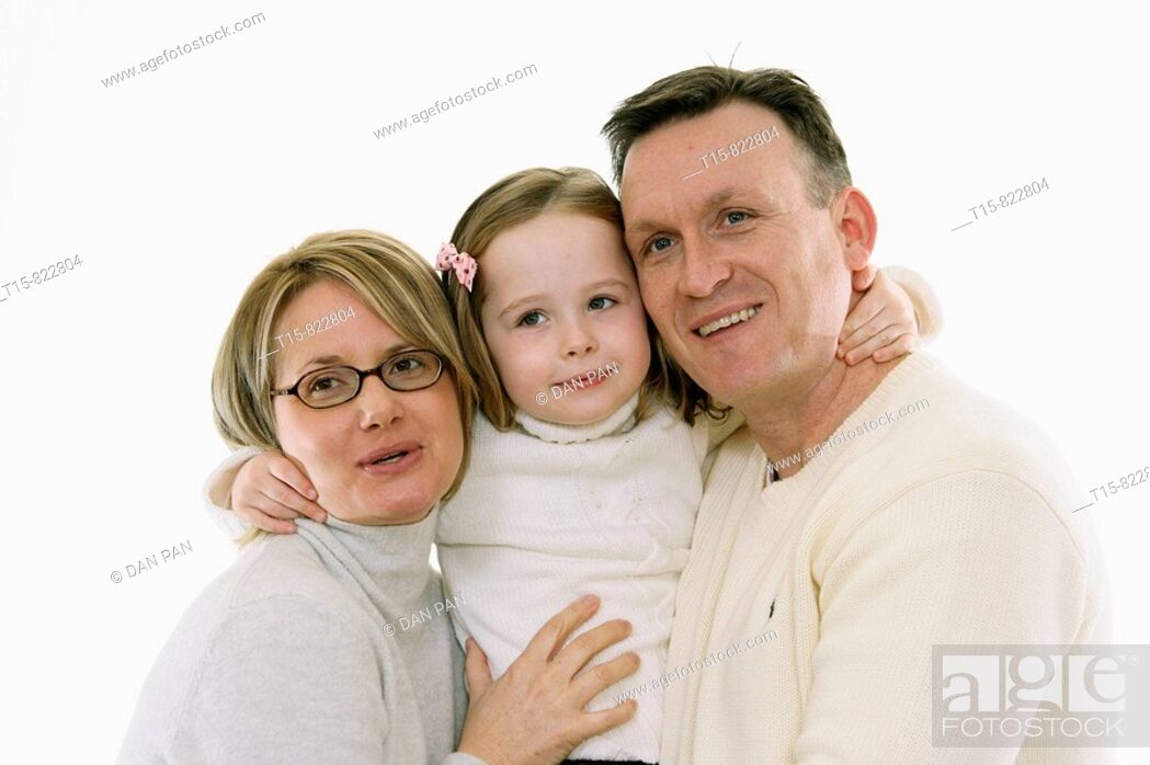 Photo de stock: family portrait.