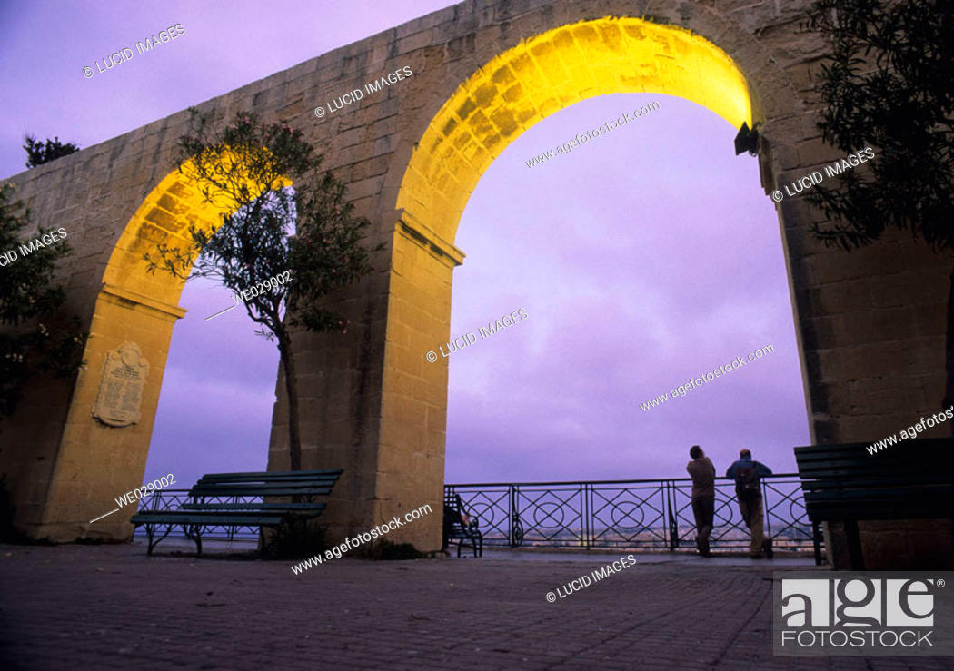 Stock Photo: Valletta, Malta.