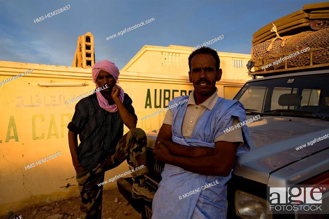 Stock Photo: Mauritania, Adrar, Atar.