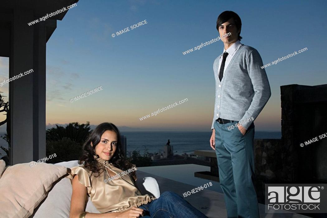 Stock Photo: Stylish couple.