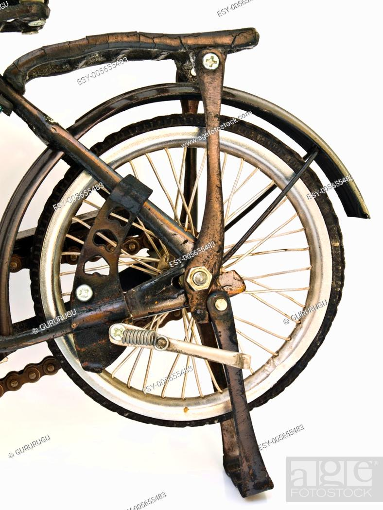 Stock Photo: Iron bicycle model, handmade from Yogyakarta, Indonesia.