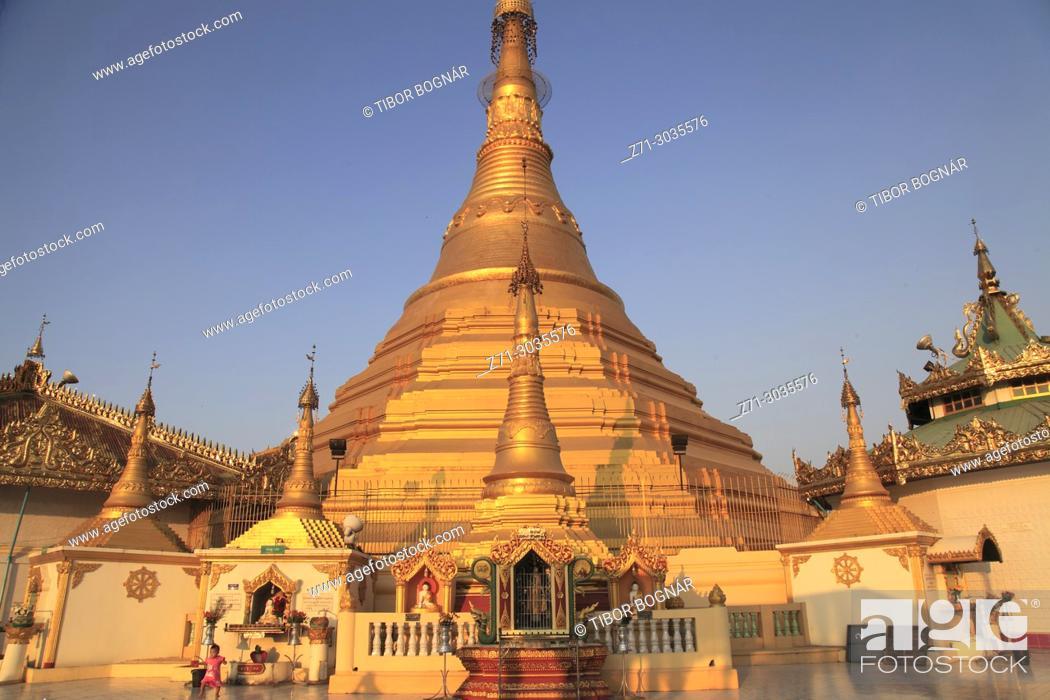 Imagen: Myanmar, Mon State, Mawlamyine, U Zina Pagoda, .