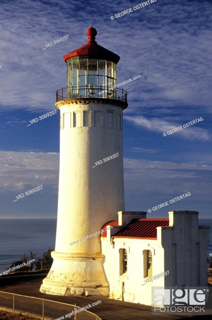 Imagen: North Head Lighthouse, Cape Disappointment State Park, Lewis & Clark National Historic Park, Washington.