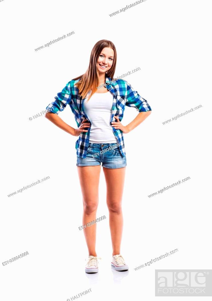 Agree with teen girls in denim shorts confirm
