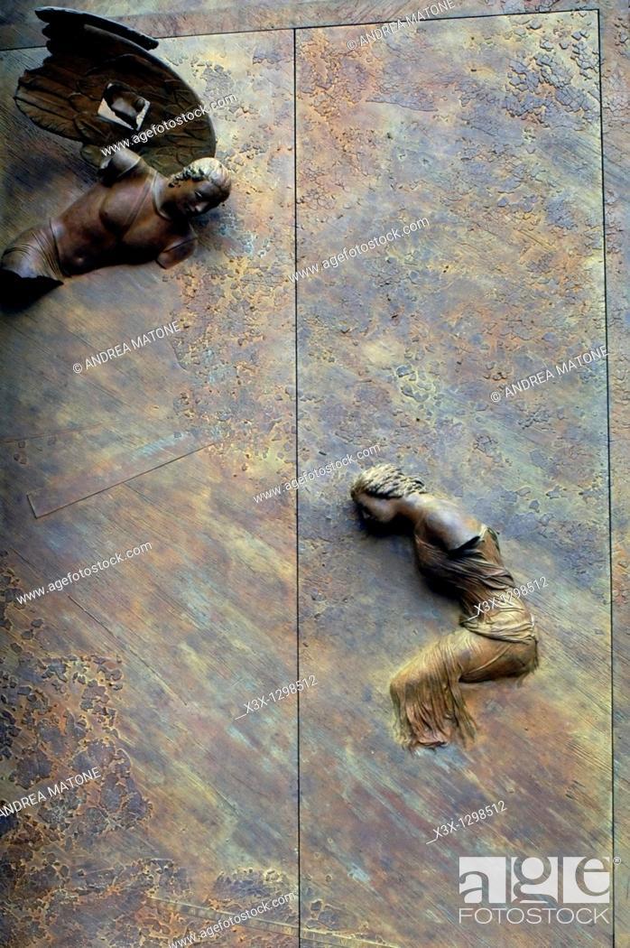 Stock Photo: Le porte degli angeli Igor Mitoraj Basilica di Santa Maria degli Angeli e dei Martiri Piazza della Repubblica Rome Italy.