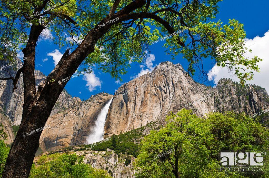 Photo de stock: Yosemite Falls, Yosemite National Park, California USA.