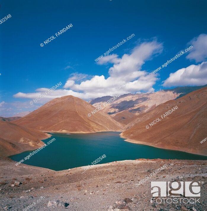 Stock Photo: Landscape in Iran.