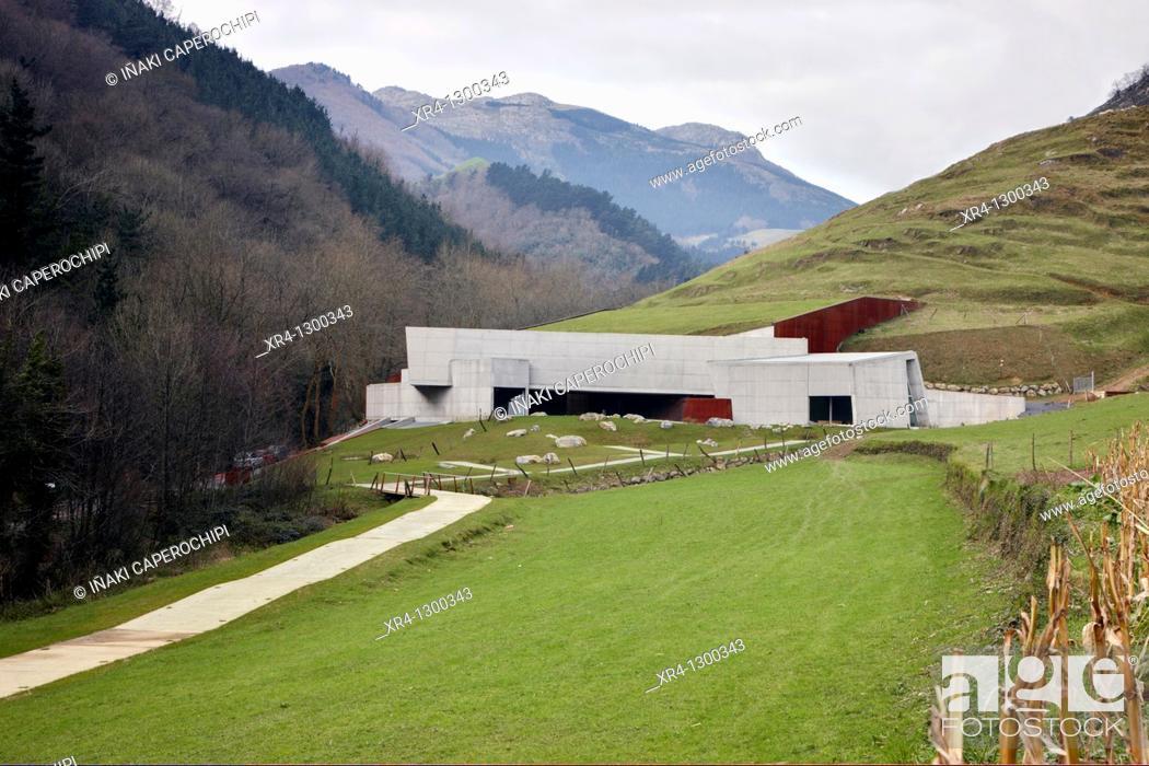 Stock Photo: Replica of Ekain Cave, Ekainberri, Cestona, Zestoa, Gipuzkoa, Guipuzcoa, Basque Country, Spain.