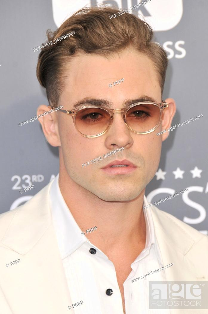 Dacre Montgomery at the 23rd Annual Critics' Choice Awards