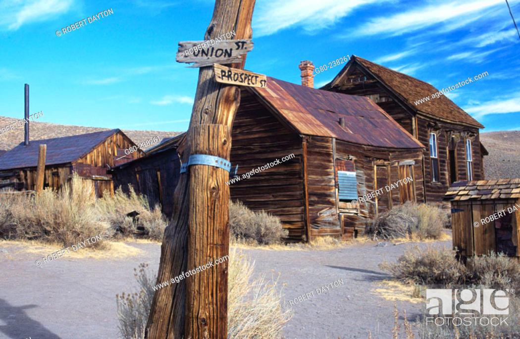 Stock Photo: Bodie State Historic Park. California. USA.