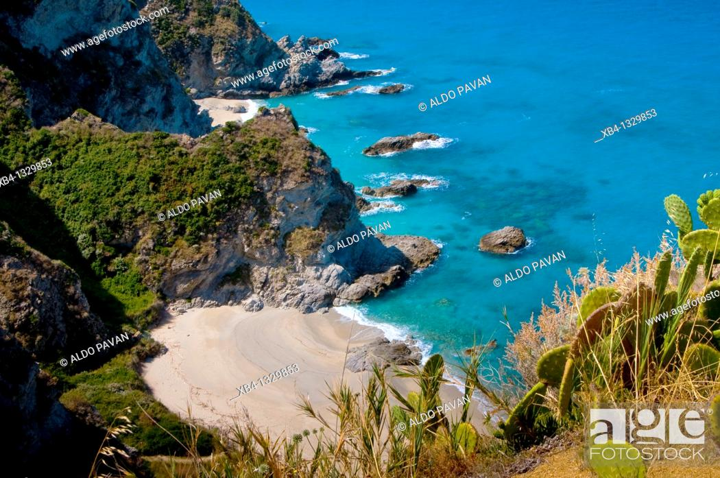 Stock Photo: Capo Vaticano, Calabria, Italy.