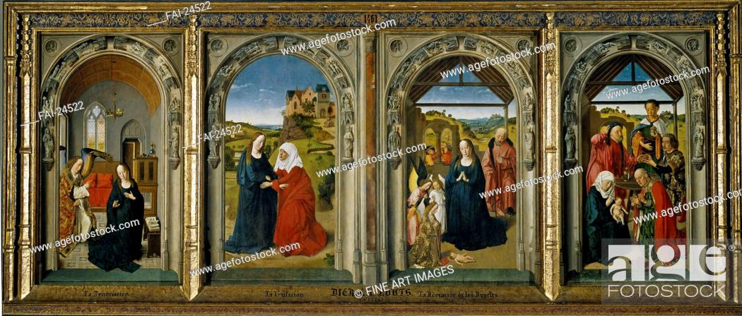 Four Scenes From The Life Of The Virgin Bouts Dirk 1410 20 1475