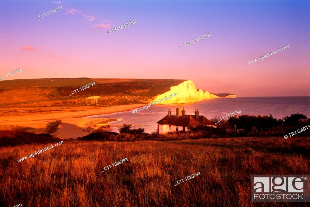 Imagen: Beachy Head South Downs East Sussex England Uk.