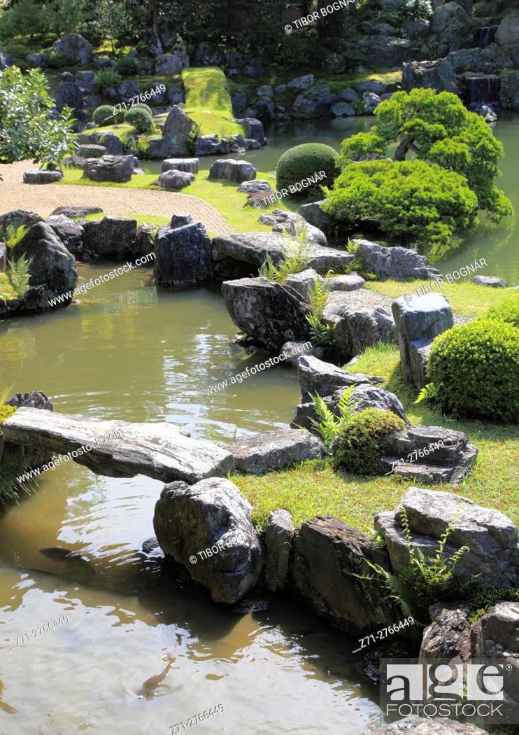 Imagen: Japan, Kyoto, Sanpo-in Temple, garden, .