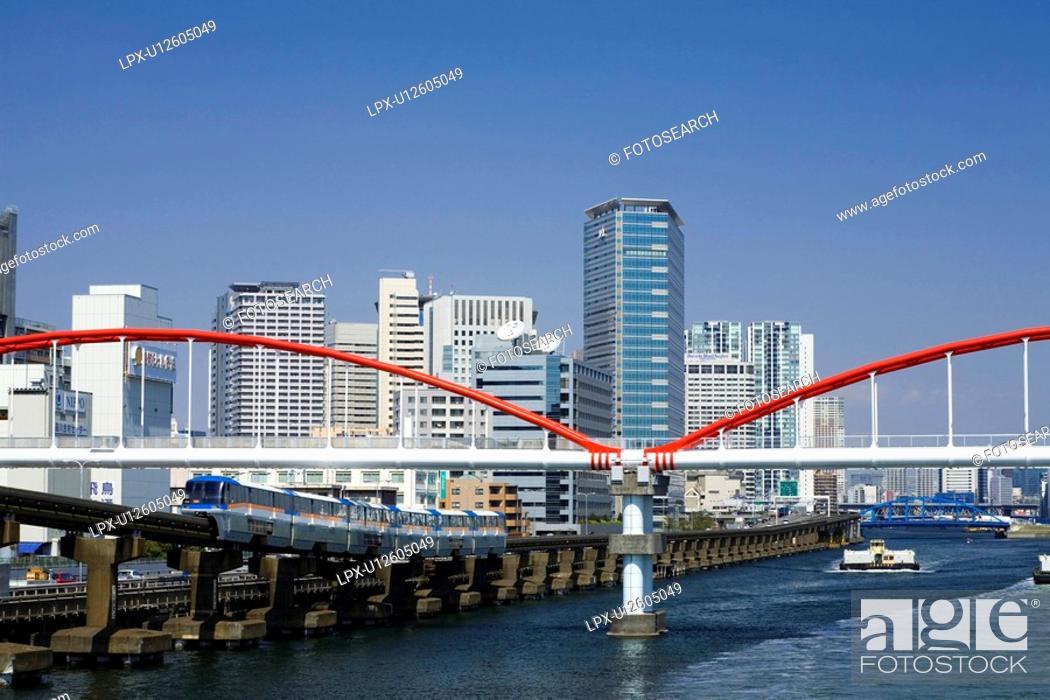 Stock Photo: Monorail.