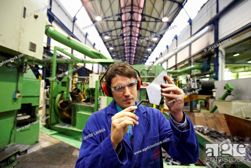 Stock Photo: Forged tools manufacturer, Gipuzkoa, Euskadi, Spain.