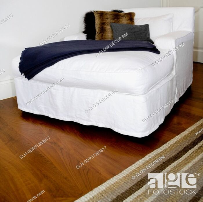 Stock Photo Sofa Bed In A Bedroom