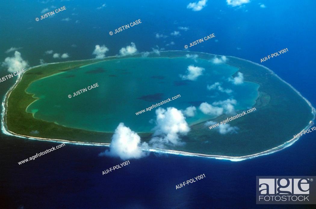 Stock Photo: Polynésie - Atoll de Fakaraya - Tuamotu.