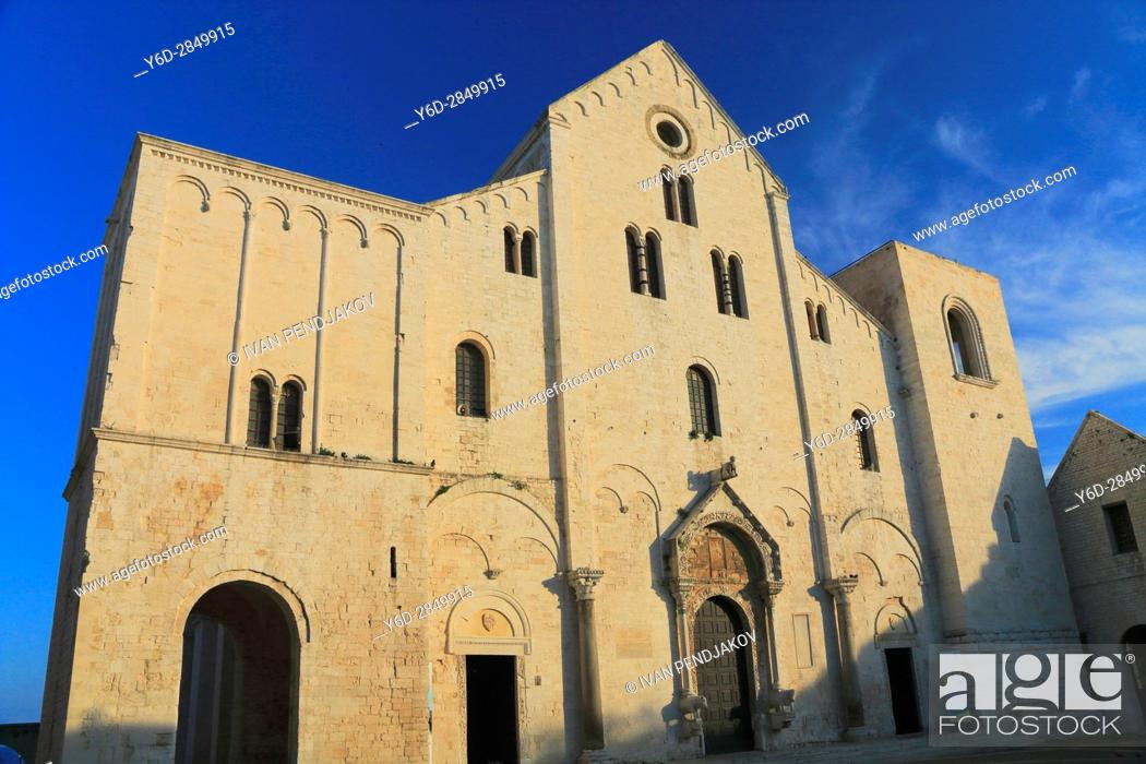 Imagen: Basilica di San Nicola, Bari, Italy.