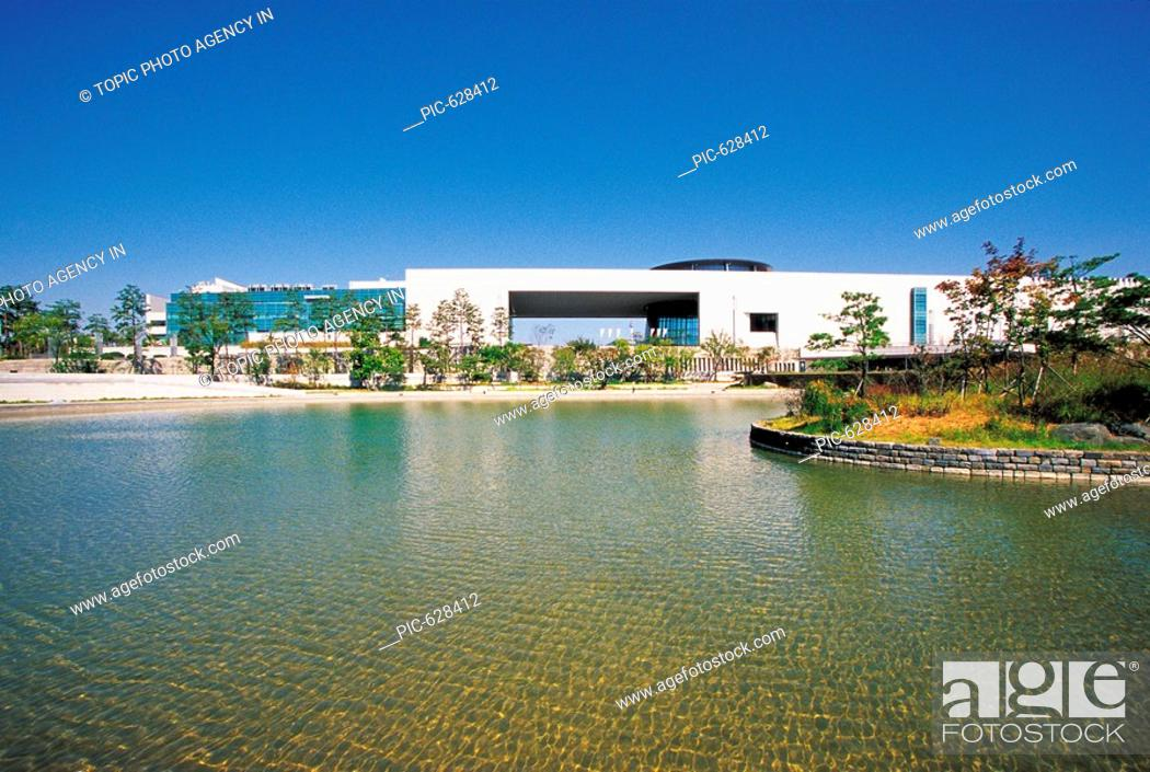 Stock Photo: The National Museum Of Korea,Seoul,Korea.