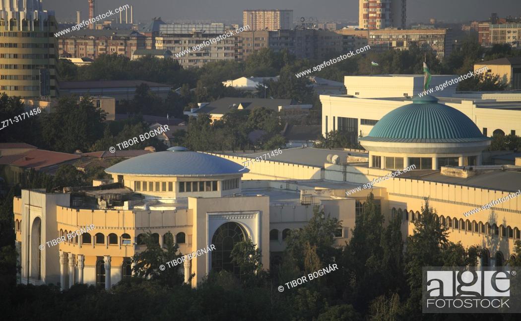 Stock Photo: Uzbekistan, Tashkent, skyline.