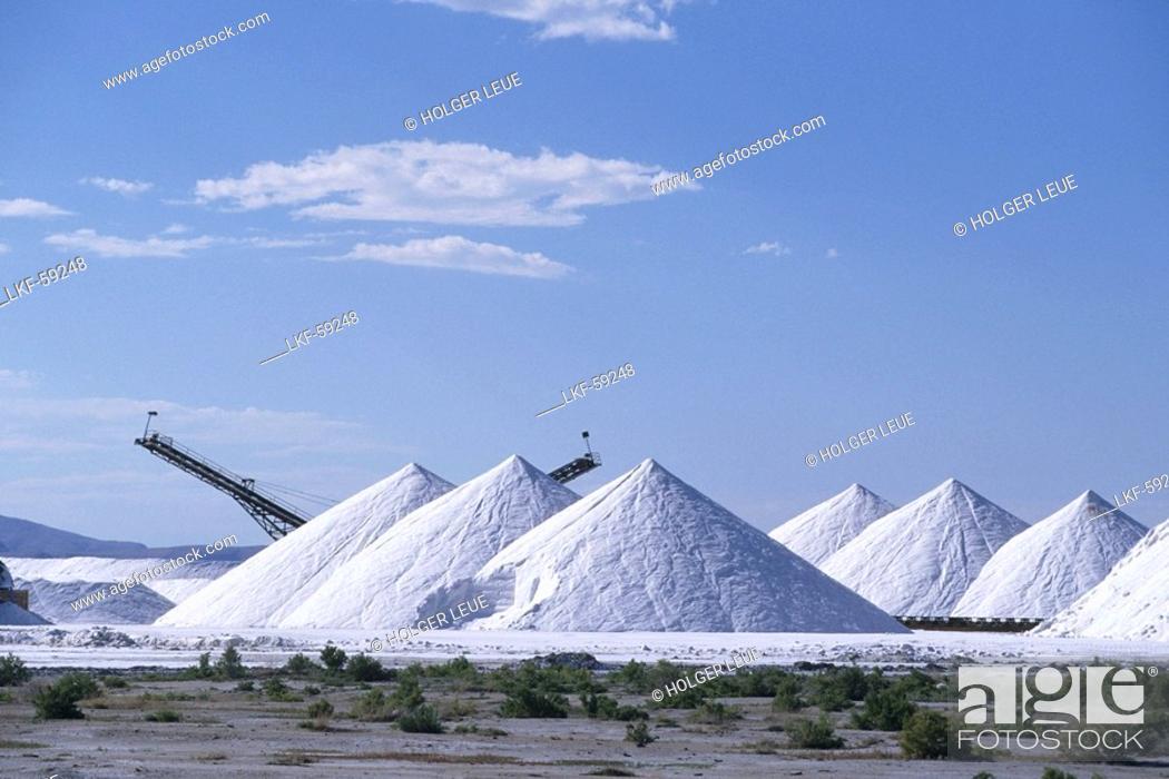 Salt Factory Mountains Great Salt Lake Desert Utah Usa Stock
