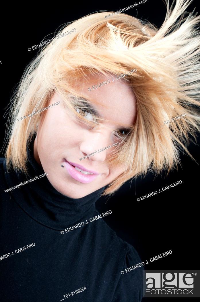 Stock Photo: Fashion girl.