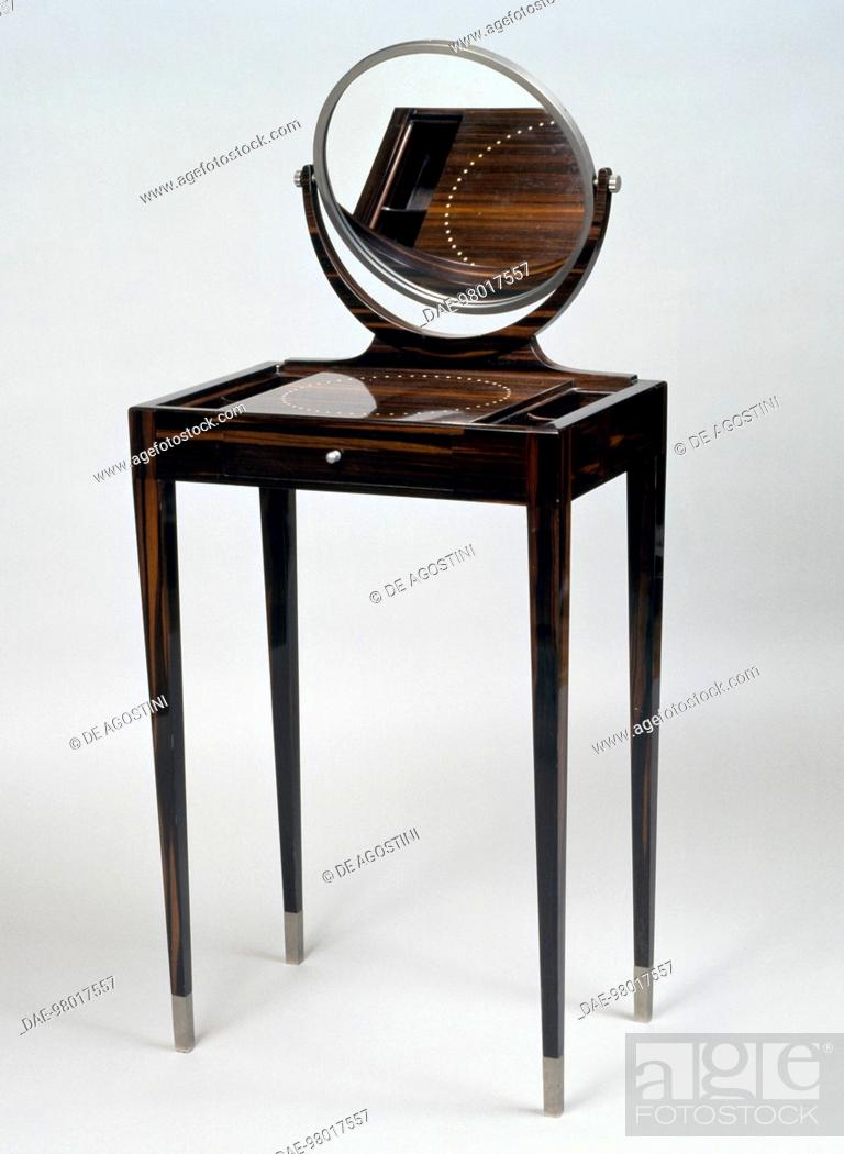 Small Art Deco style dressing table, Morel model, ca 1921-1922 ...