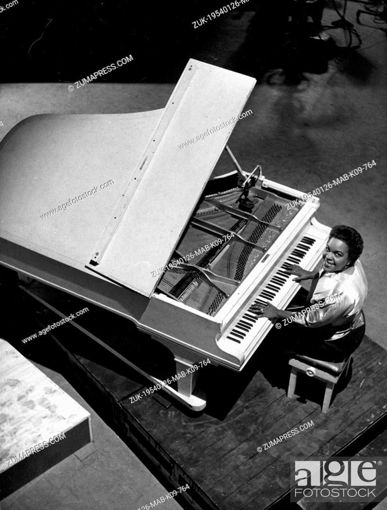 Jan  26, 1954 - London, England, U K  - The famous pianist