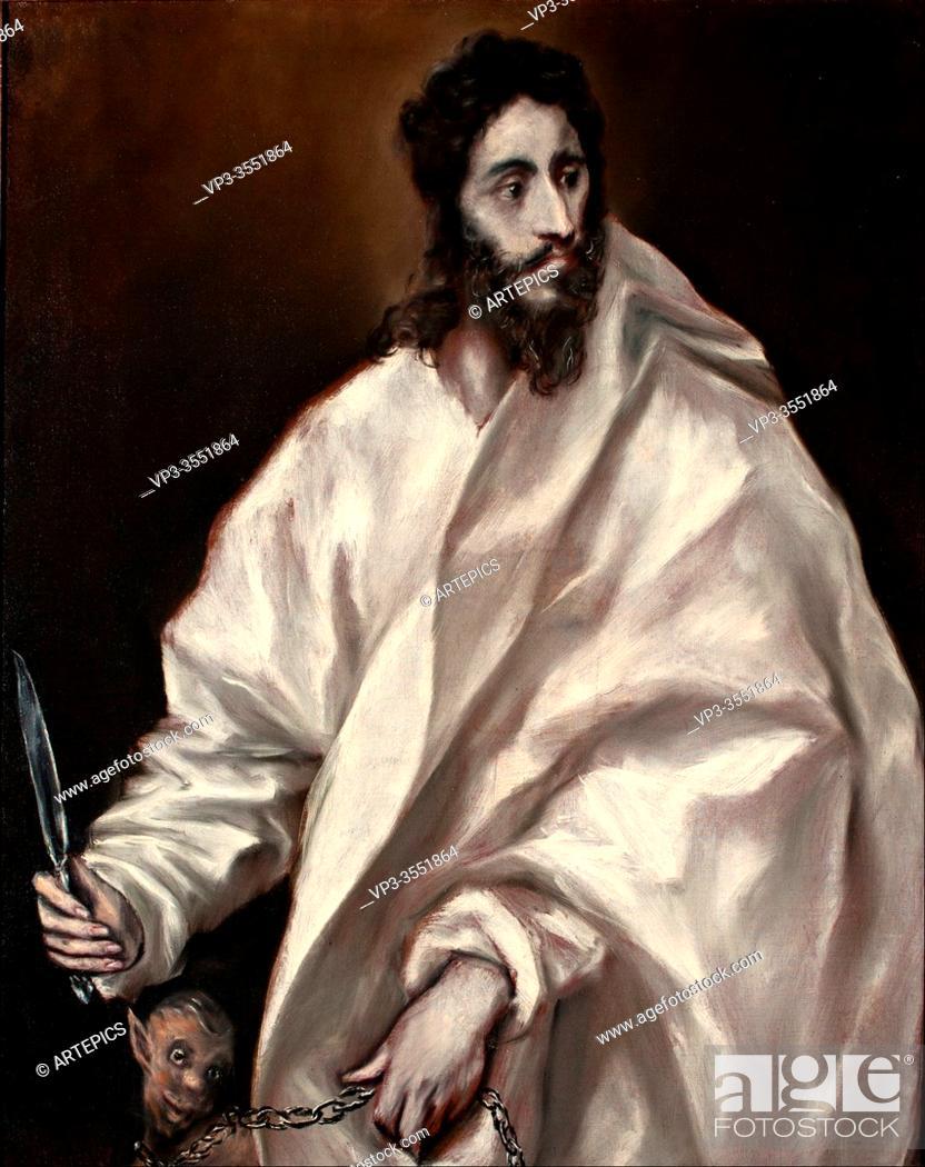 Imagen: Domínikos Theotokópoulos - El Greco - Saint Bartholomew.