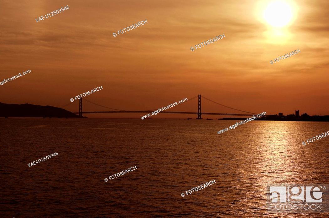 Stock Photo: Evening sun.