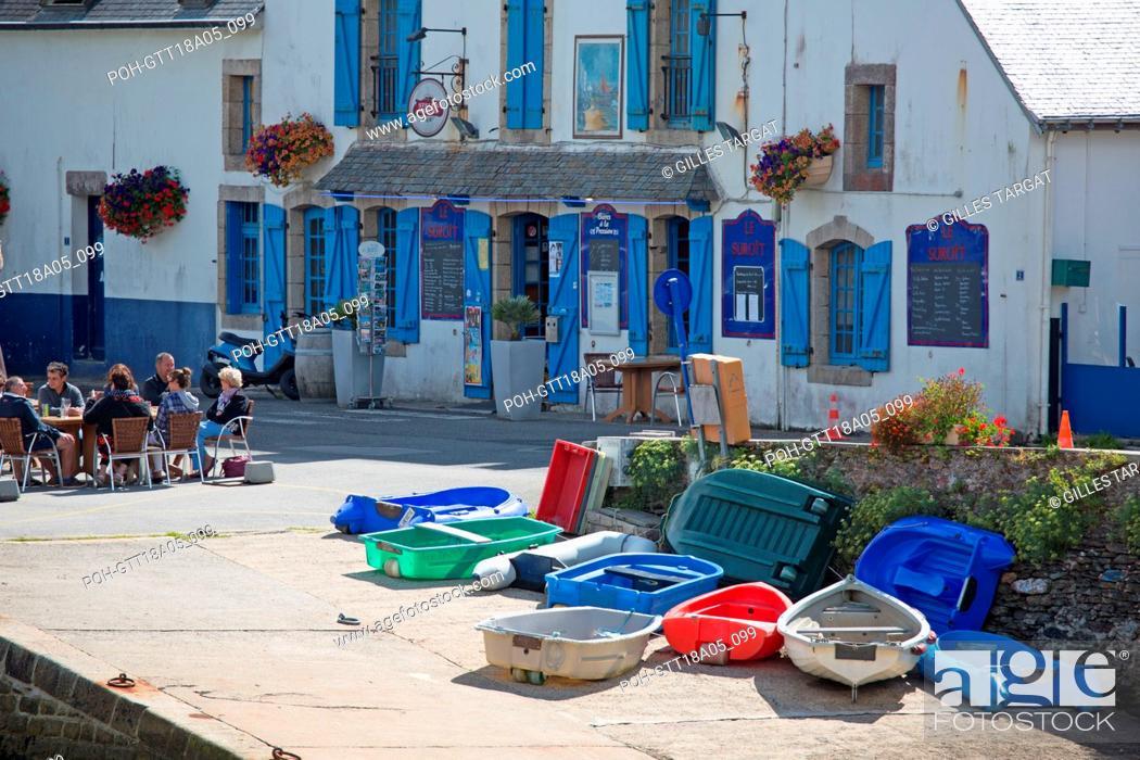 France Région Bretagne Finistère Sud Clohars Carnoët Ria