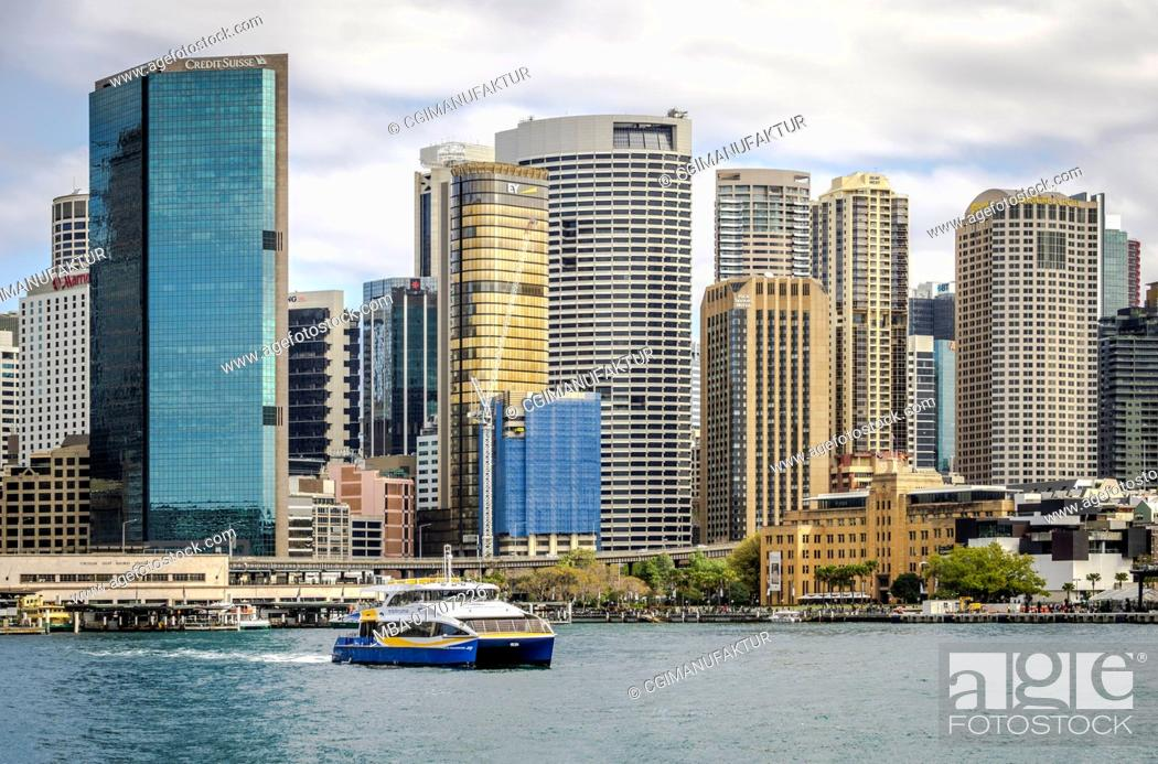 Stock Photo: Sydney Harbour.
