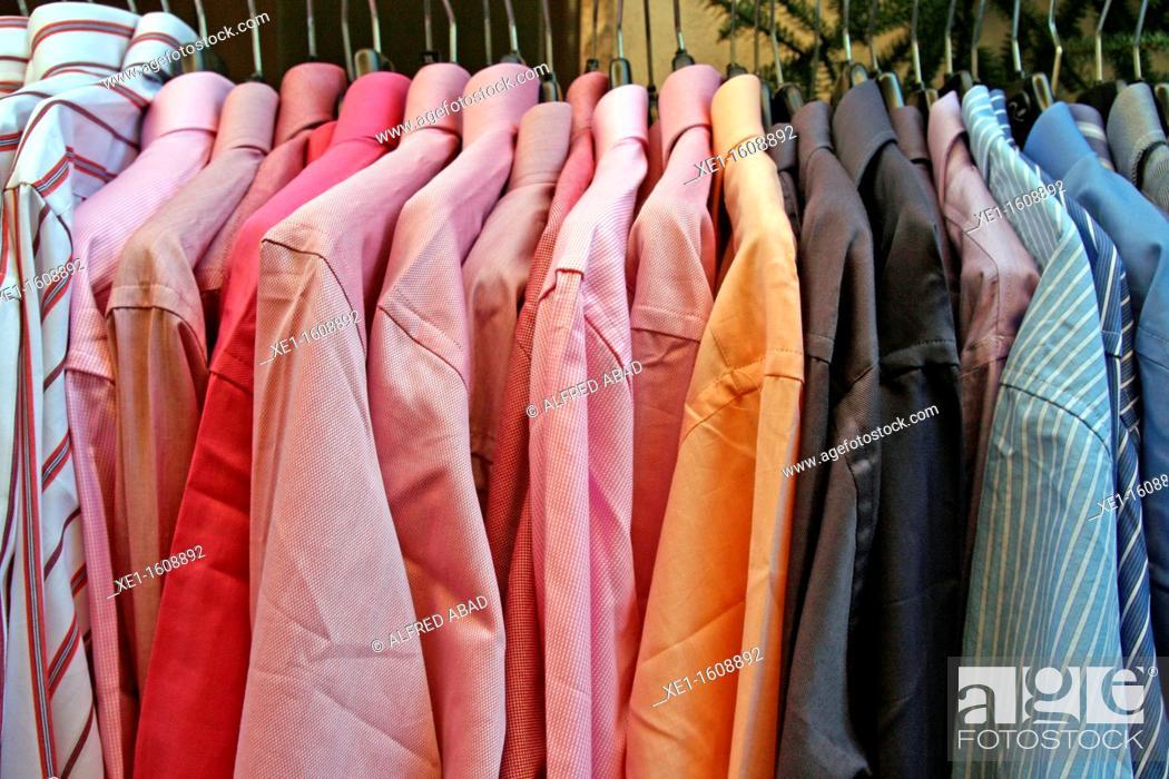 Stock Photo: Shirts, fashion.