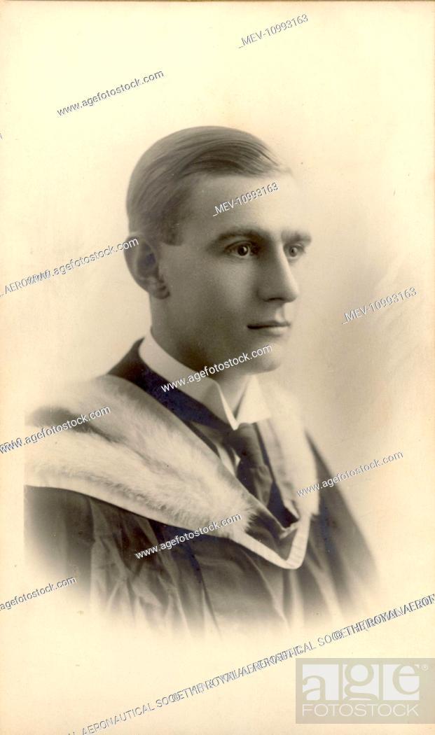 Stock Photo: Sir Frederick Handley Page, CBE, FRAeS, 1885-1962, RAeS President 1945-1947.