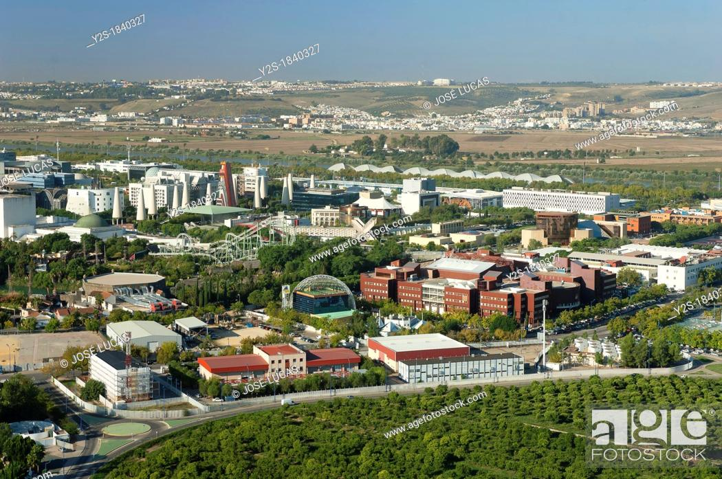 Stock Photo: La Cartuja Island, Seville, Spain.