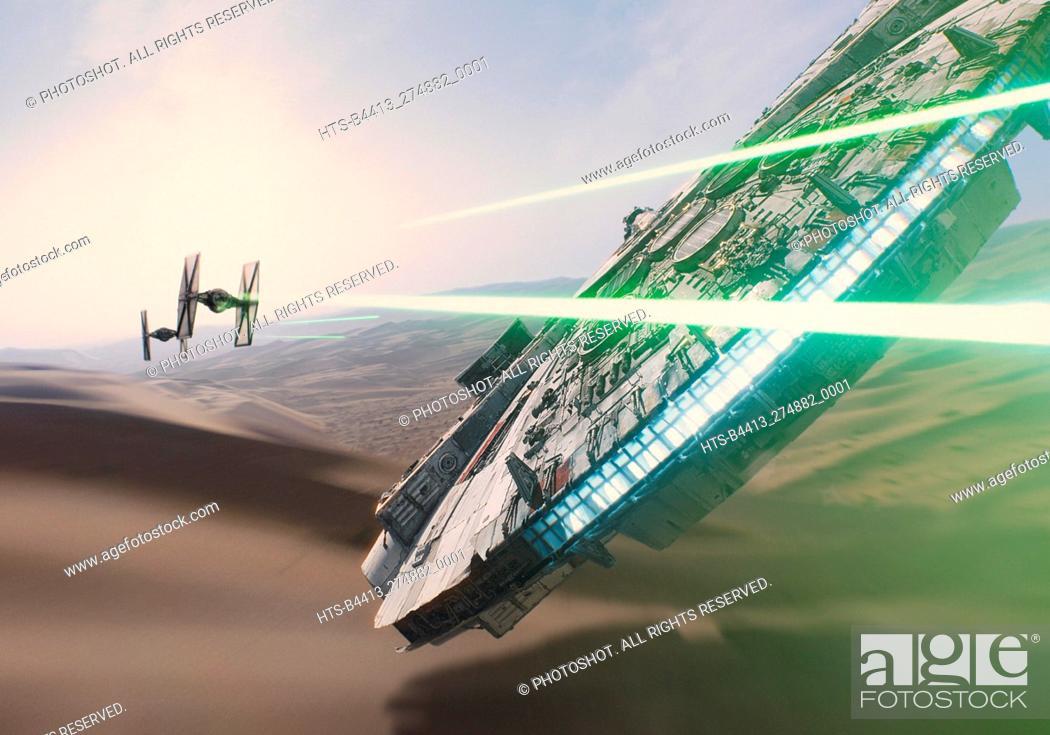"Stock Photo: """"""Star Wars: Episode VII - The Force Awakens"""" (2015) Scene Still © 2015 Lucasfilm."