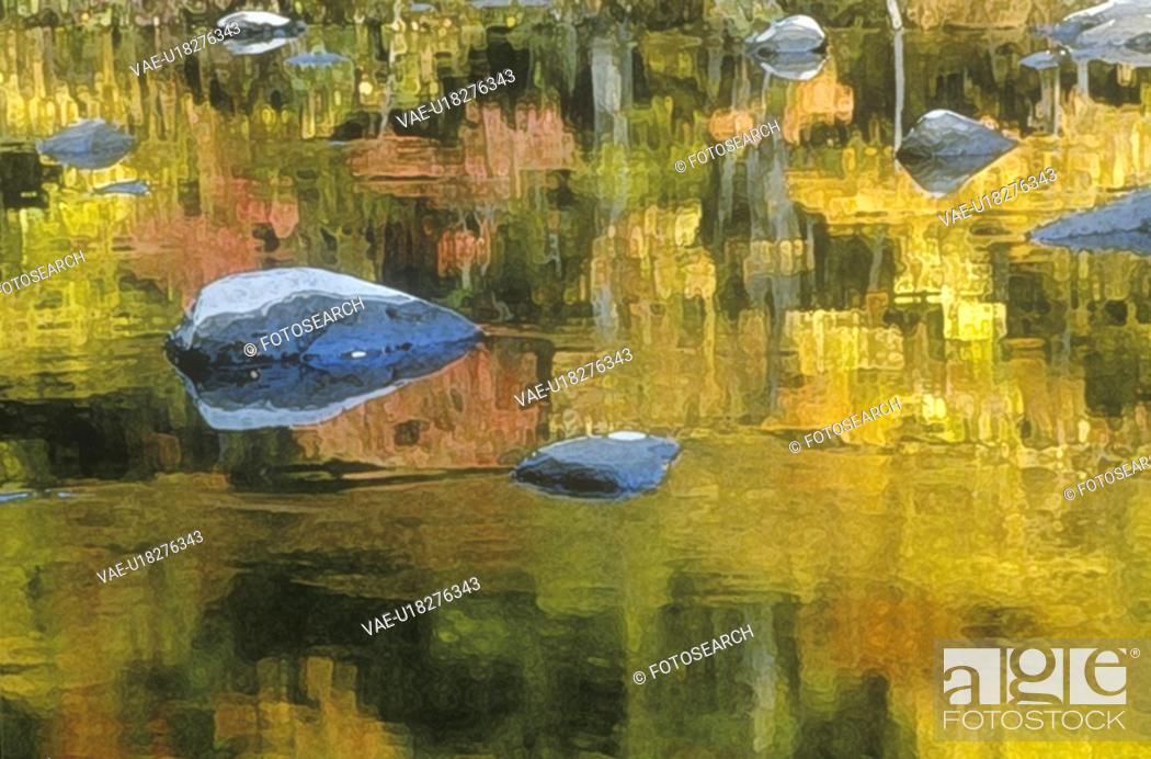 Stock Photo: Autumn Stream.