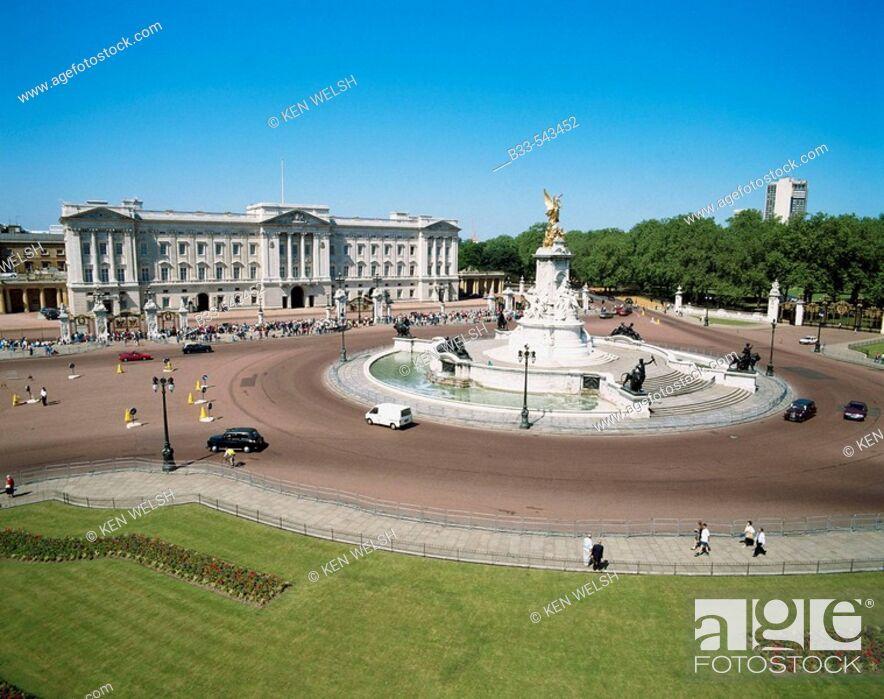 Imagen: Buckingham Palace, London. England, UK.
